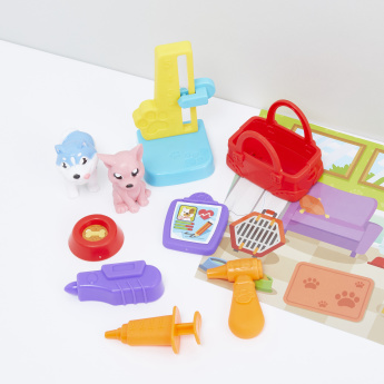 Pocket Pals Pet Clinic Playset