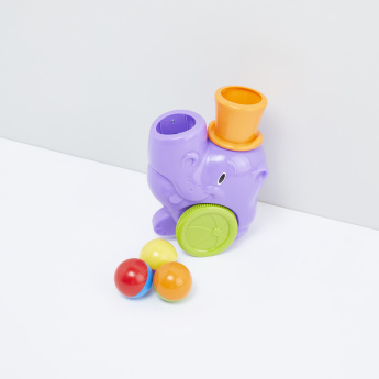 Pop n Go Hippo Car Toy