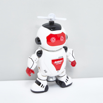 Battery Operated Dance King Robot Toy