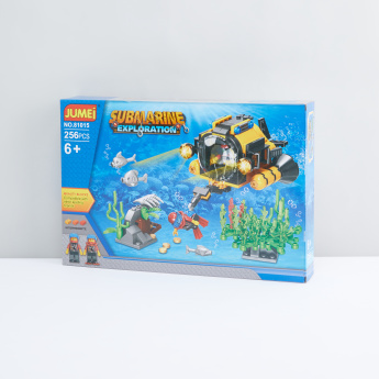 Submarine Exploration 256-Pieces Blocks Playset