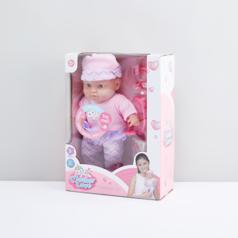 Baby Doll Playset with Sound