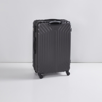Textured Hard Case Trolley Bag with 360 Spinner and Retractable Handle