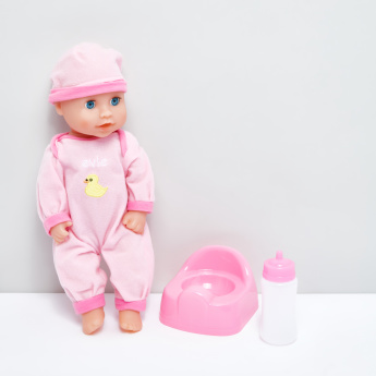 Evie Drink and Wet Doll Playset