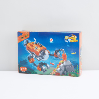 BanBao 196-Piece Duncan's Treasure Building Blocks Set