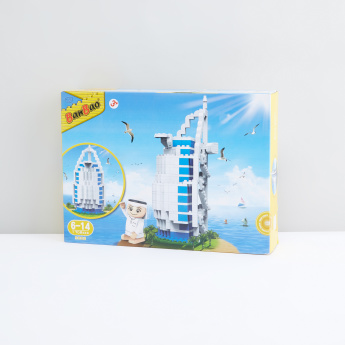 BanBao Arabic Line Burj Al Arab Tobees 345-Piece Blocks Set