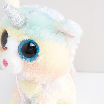 Beanie Boos Heather Unicorn Cat Plush Toy
