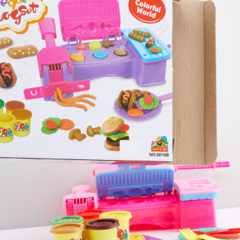 Barbeque Dough Playset