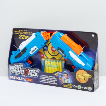 Air Warriors Shooter Gun Playset with Blasters