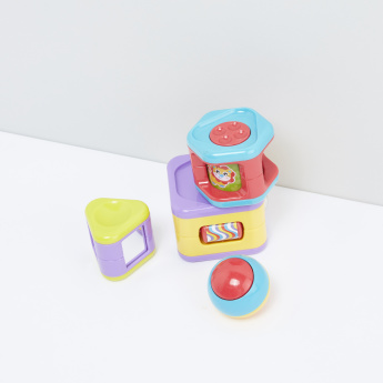 Playgro Stacking Activity Tower