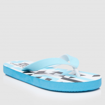 Printed Thong Flipflops