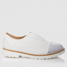 Slip-On Shoes with Elasticised Detailing