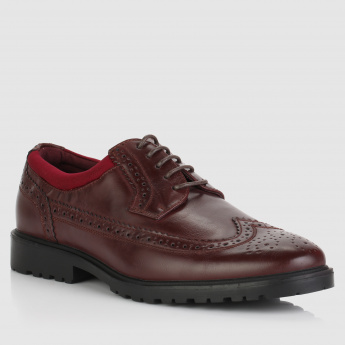 Lace-Up Formal Brogue Shoes