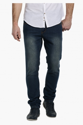 Full Length Denim Pants in Slim Fit