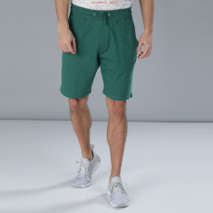 Contrast Colour Waist Shorts