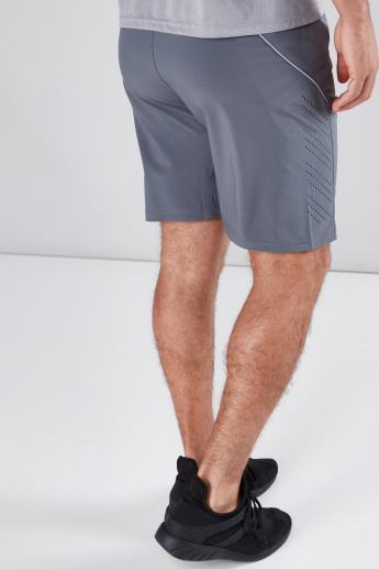 Zip Detail Shorts