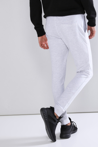 Printed Jog Pants with Pocket Detail and Drawstring