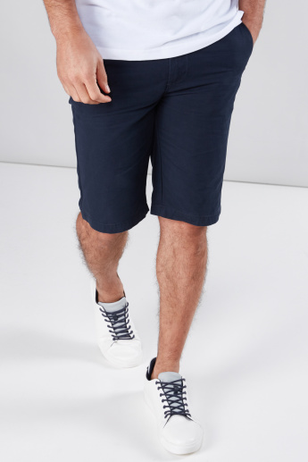 Pocket Detail Shorts in Regular Fit