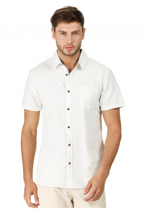 Dobby Short-sleeved Shirt