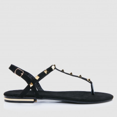Embellished Sandals with Buckle Closure