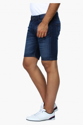 Denim Shorts in Slim Fit
