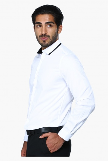 Long Sleeves Formal Shirt in Slim Fit