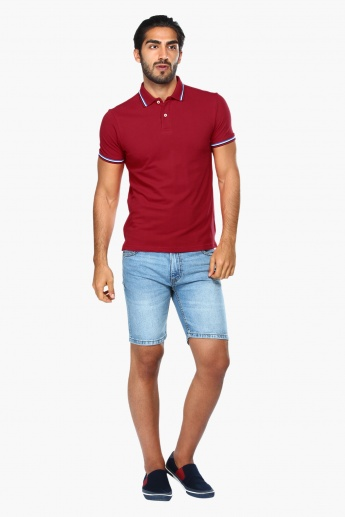 Polo T-Shirt with Short Sleeves