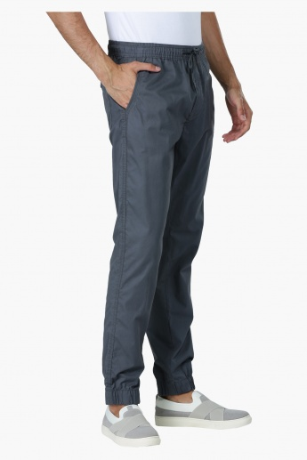 Full Length Jog Pants with Drawstring