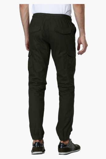 Full Length Jog Pants with Elasticised Cuffs