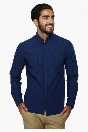 Printed Long Sleeves Shirt in Regular Fit