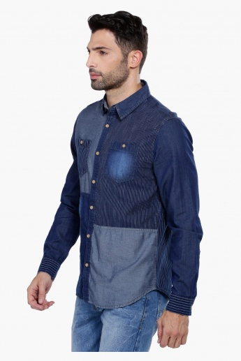 Shirt with Long Sleeves in Regular Fit