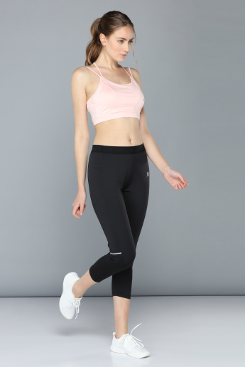 Capri Length Track Pants with Elasticised Waistbands
