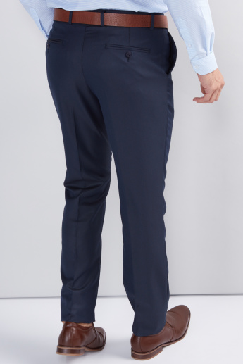 Full Length Trousers with Pocket Detail and Belt