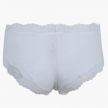 Briefs with Lace Detail