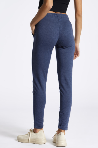 Full Length Leggings with Pocket Detail and Drawstring