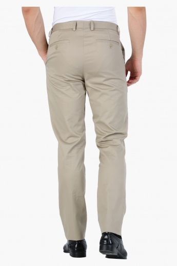 Full Length Formal Trousers in Straight Fit