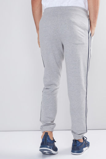 Full Length Jog Pants with Elasticised Waistband and Drawstring