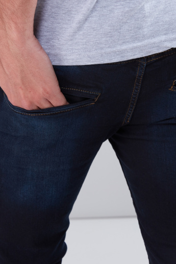 Full Length Jeans in Skinny Fit with Pocket Detail