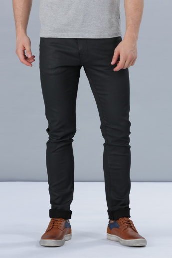 Full Length Jeans with Pocket Detail in Skinny Fit
