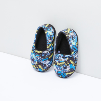 Batman Printed Slip-On Bedroom Shoes