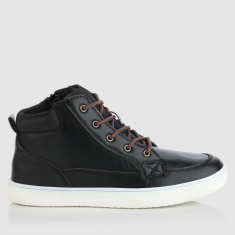 High Top Lace-Up Shoes