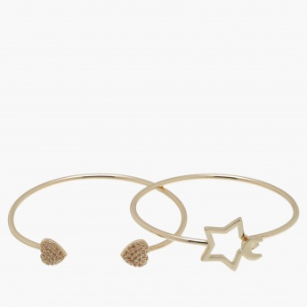 Studded Bracelet - Set of 2