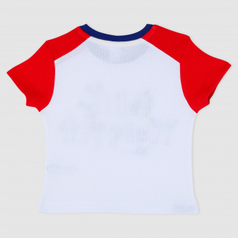 Short Sleeves T-Shirt with Crew Neckline