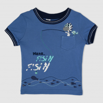 Printed Short Sleeves T-shirt