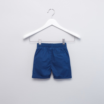 Pocket Detail Shorts with Elasticised Waistband