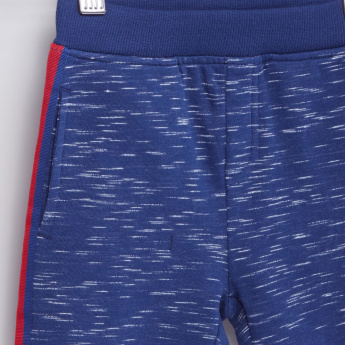 Space Dyed Shorts with Side Tape Detail