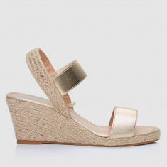 Slip-On Wedges with Ankle Strap