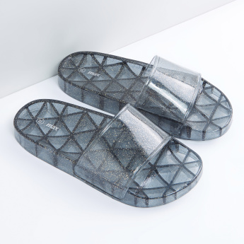 Printed Slides with Broad Strap