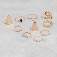 Assorted Rings - Set of 10