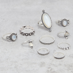 Assorted Finger Ring - Set of 10