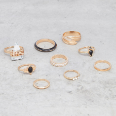 Assorted Finger Ring - Set of 9